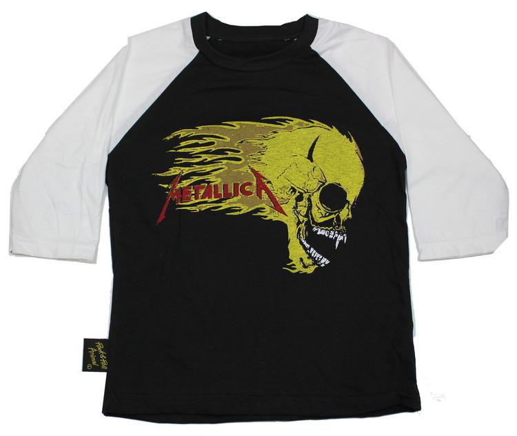 Metallica Skull barn Baseball