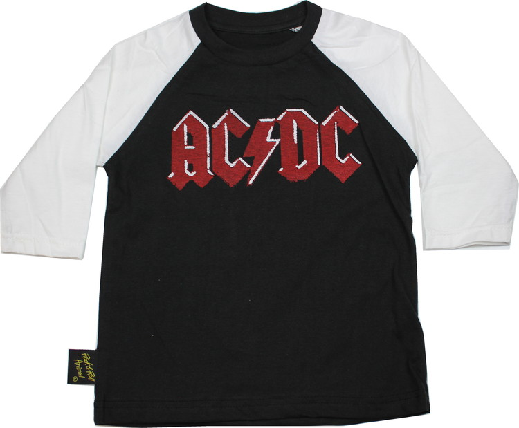 Ac/dc logo barn Baseball