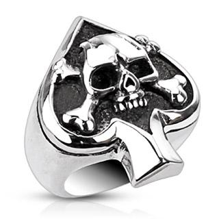 Skull/ace of spades
