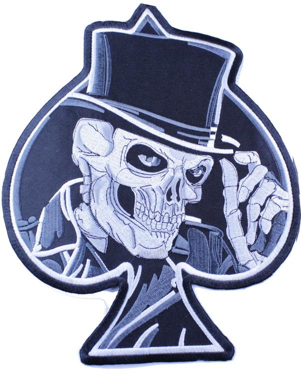 Skull/ ace of spades XL