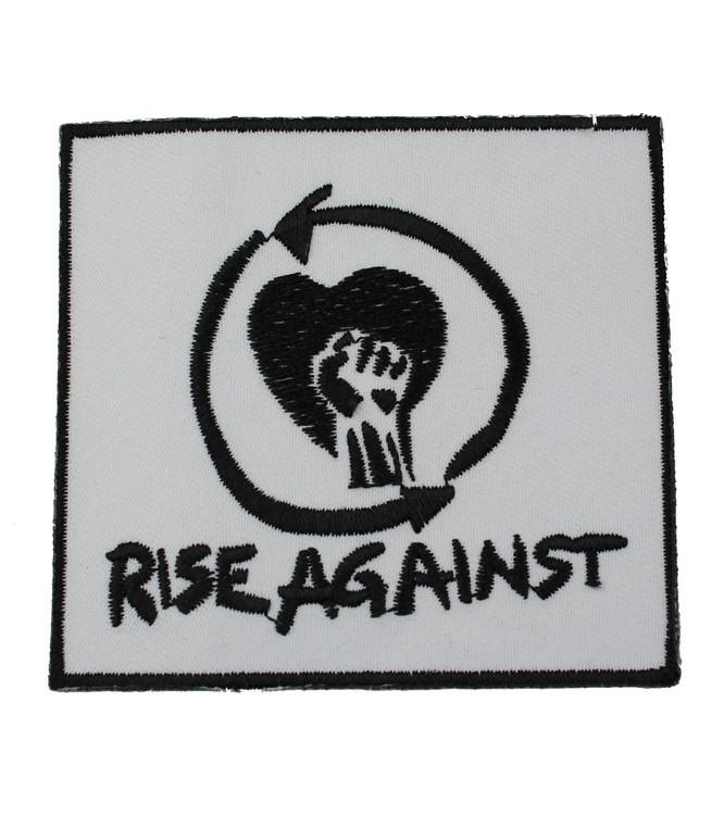 Rise against white