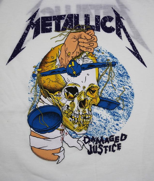 Metallica Damage justice baseballshirt