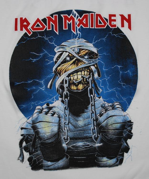 Iron maiden Mummy baseballshirt