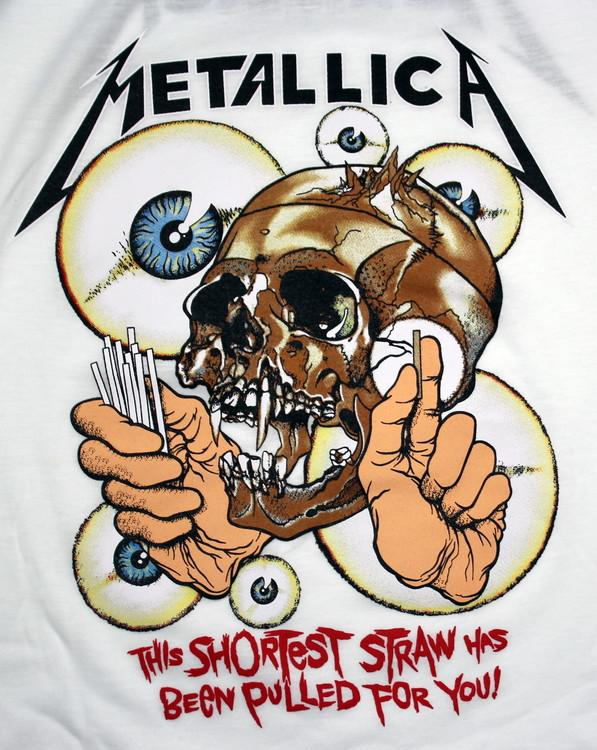 Metallica The shortes straw has been pulled for you baseballshirt