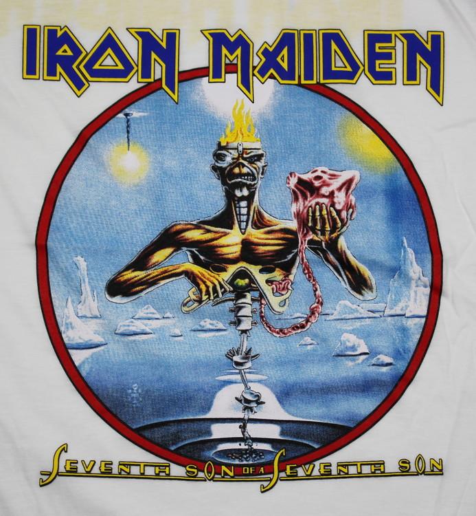 Iron maiden Seventh son of the seventh son baseballshirt
