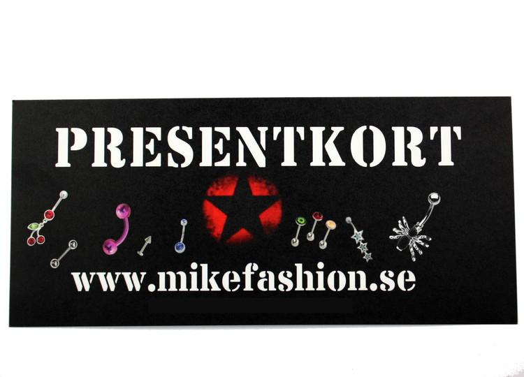 Presentkort 600 kronor