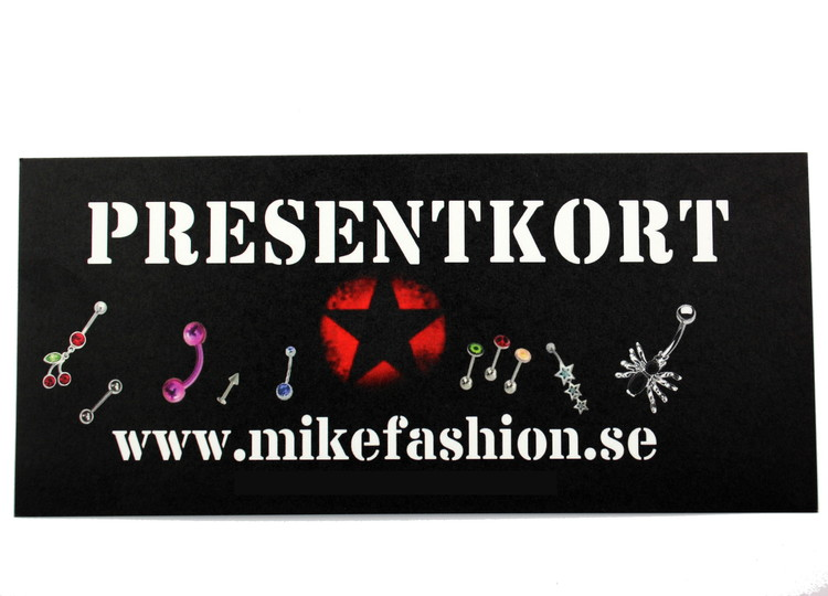 Presentkort 700 kronor