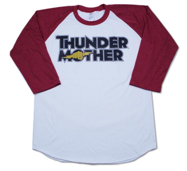 Thundermother raglanshirt Red