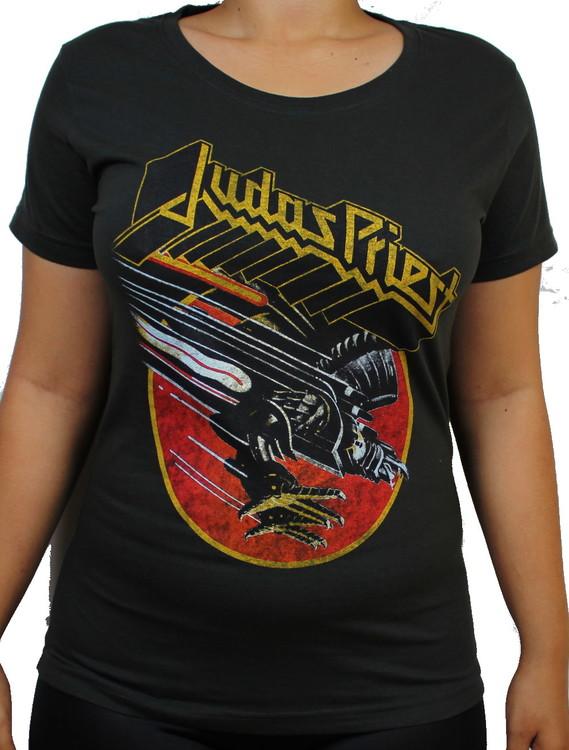 Judas priest screaming for vengeance Girlie t-shirt