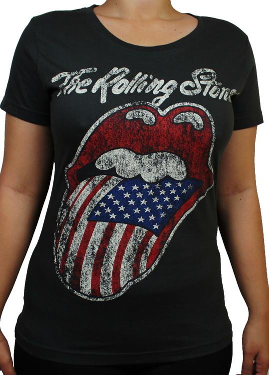 Rolling stones Girlie t-shirt