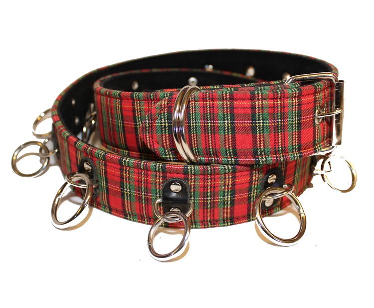Scotch nitbälte ringar