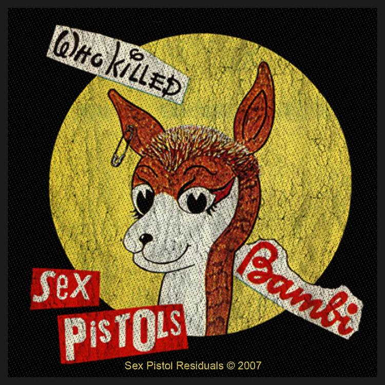 The Sex Pistols Patch: Who Killed Bambi?