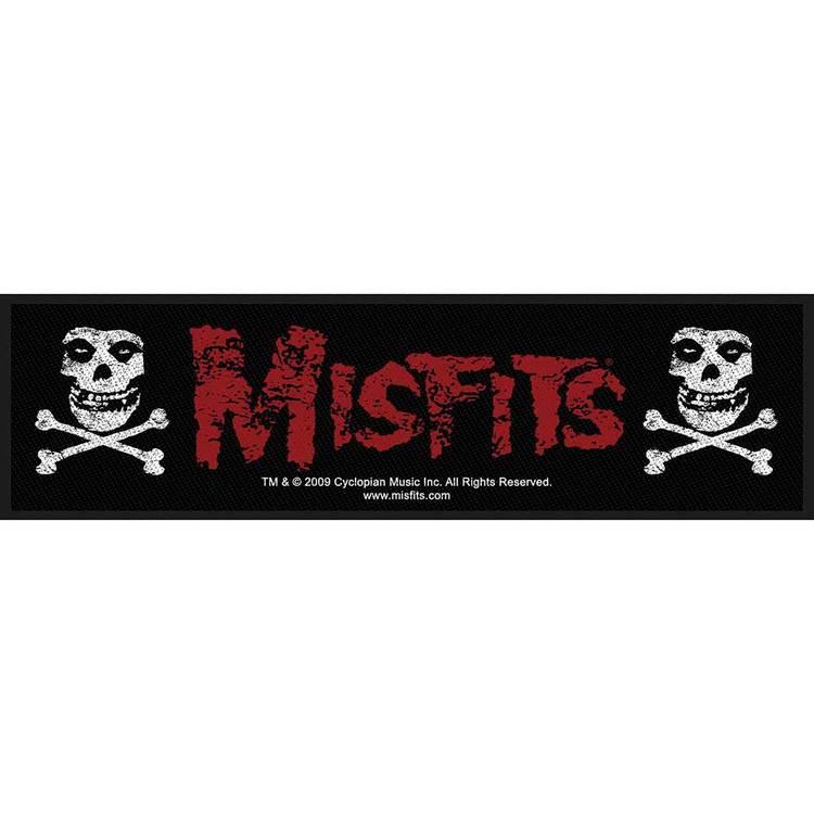 Misfits Super Strip Patch: Cross Bones