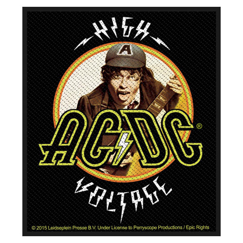 AC/DC Patch: High Voltage Angus
