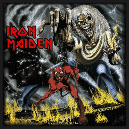 Iron Maiden Standard Patch: Number of the Beast
