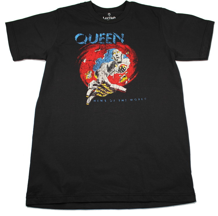 Queen News of the world T-shirt