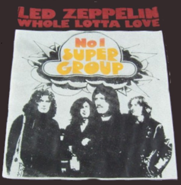 Led zeppelin No 1 supergroup T-shirt