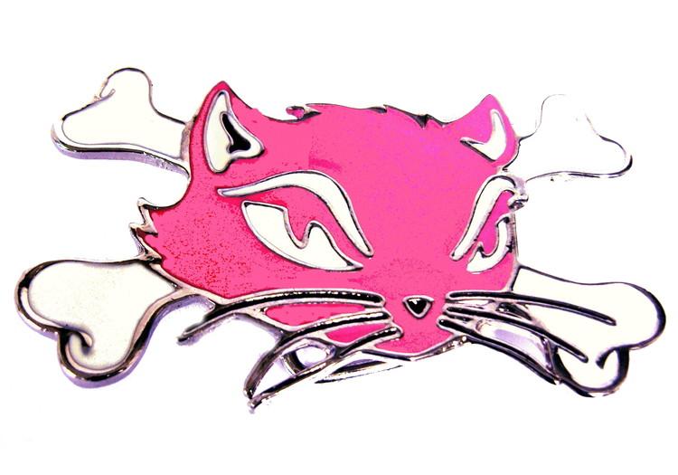 Evil kitten bälte rosa