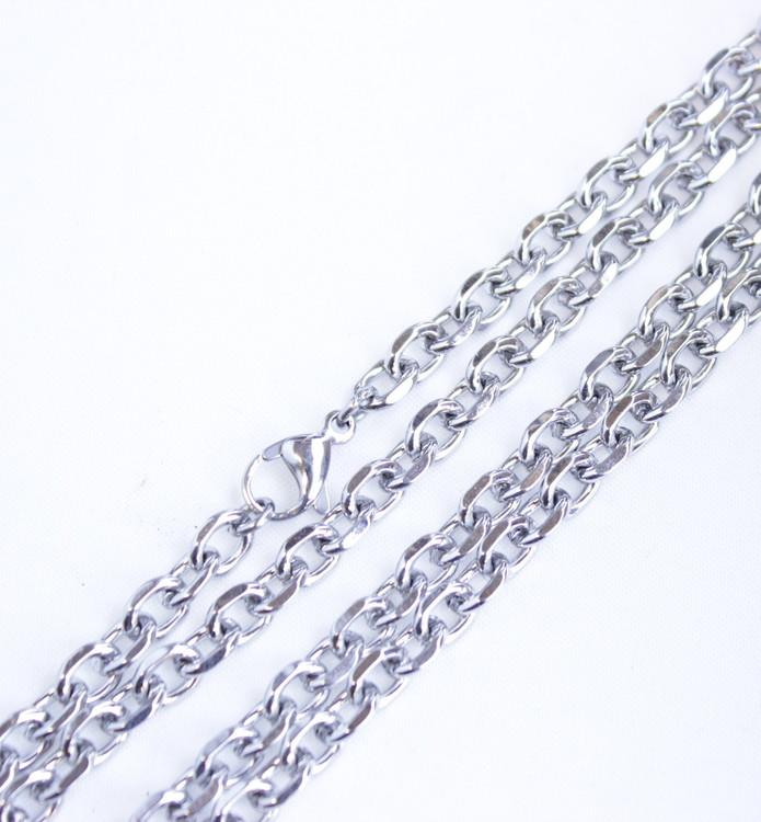 Halsband cross/ fleur de lis