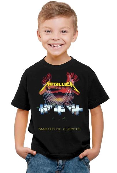 Metallica master of puppets barn t-shirt