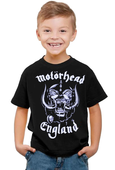 Motörhead england barn t-shirt