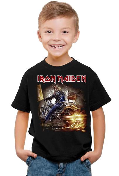Iron maiden Biker barn t-shirt
