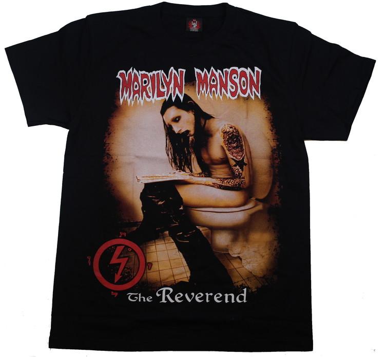 Marilyn manson  The reverend T-shirt