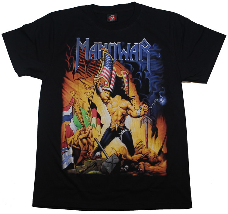 Manowar Warriors of the world T-shirt