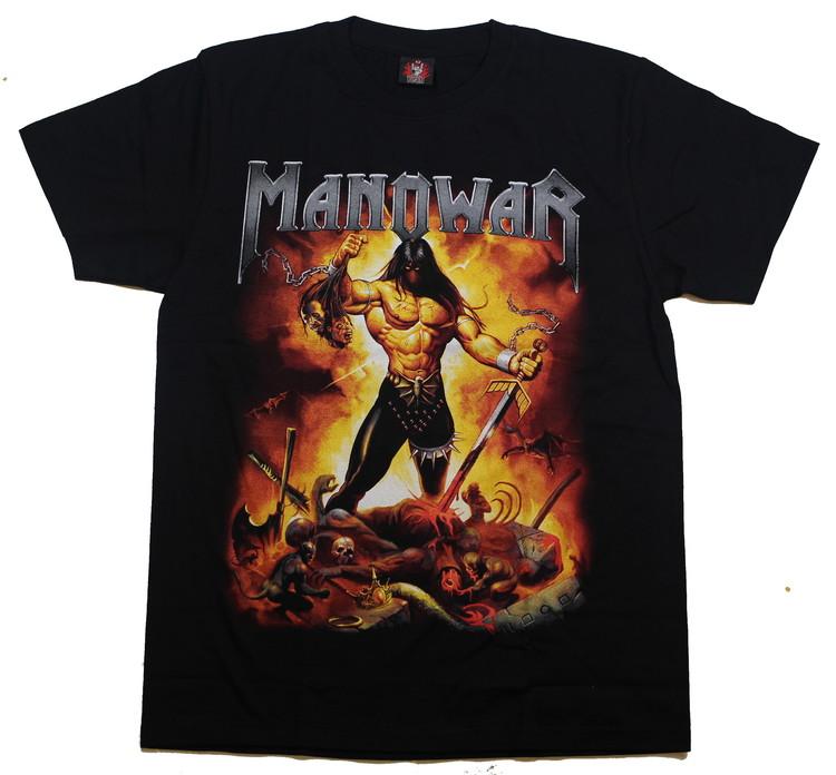 Manowar Fire and blood T-shirt