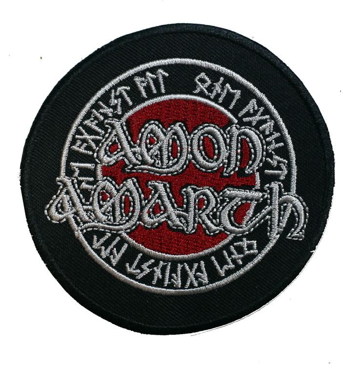 Amon amarth round Red