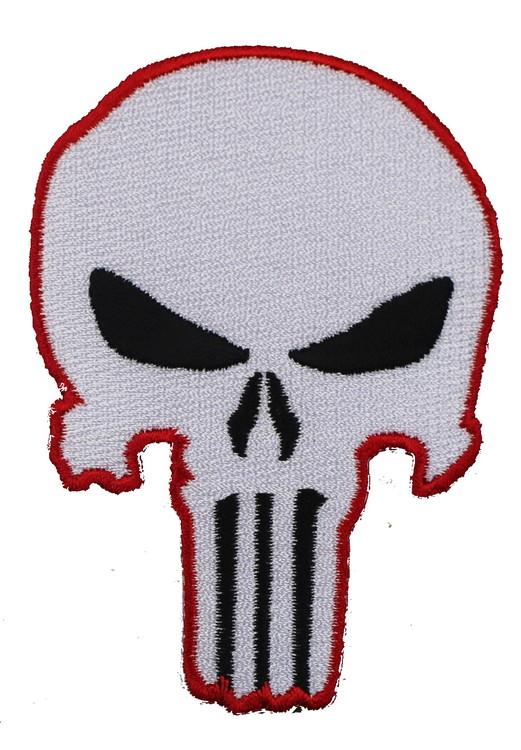 Punisher red/white