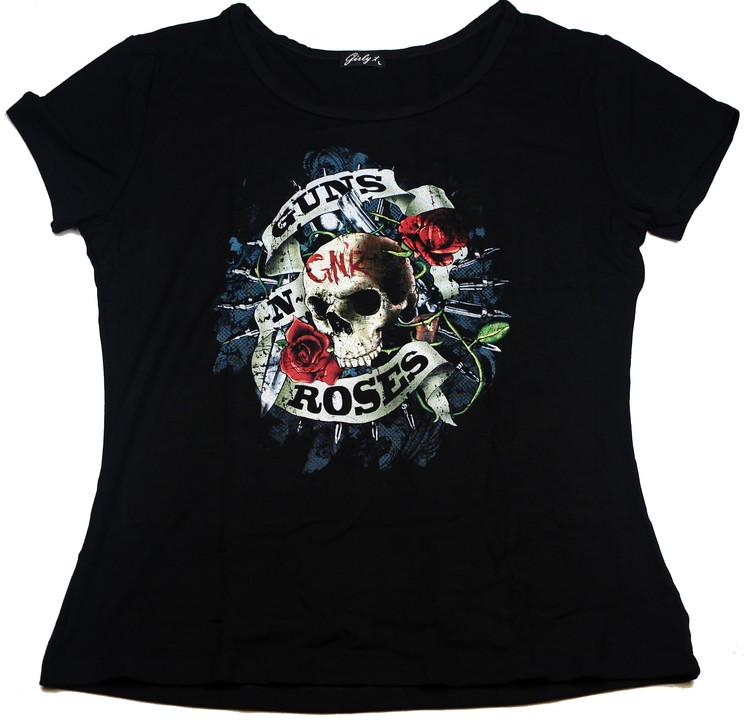 Guns n roses Skull Girlie t-shirt