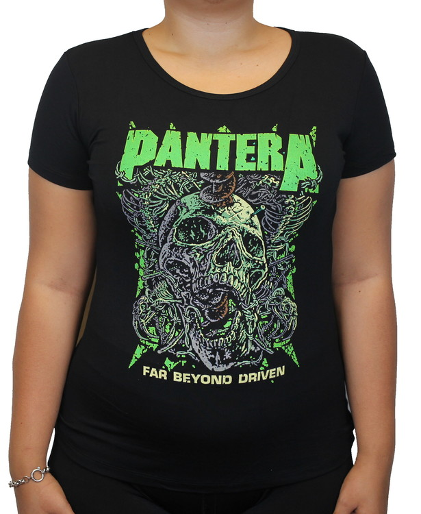 Pantera Far beyond driven Girlie t-shirt