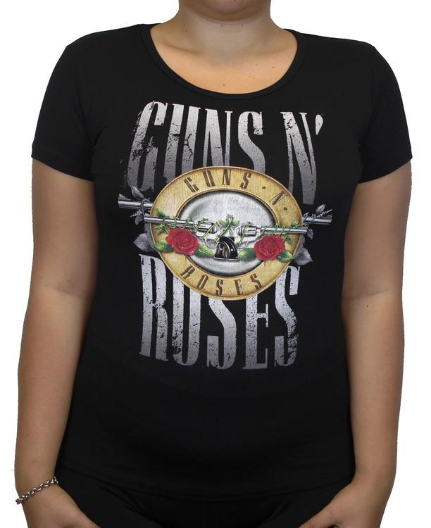 Guns n roses logo Girlie t-shirt