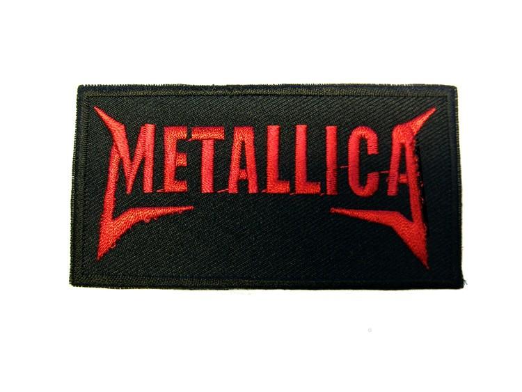 Metallica logo red