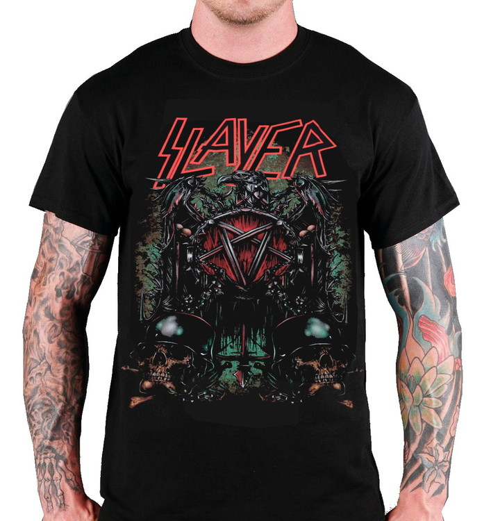 Slayer Skulls T-shirt