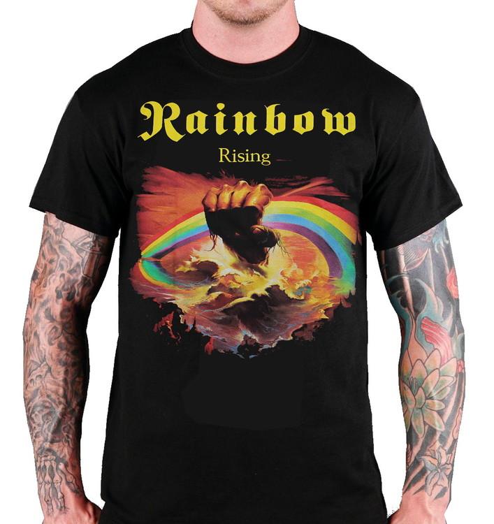 Rainbow rising T-shirt