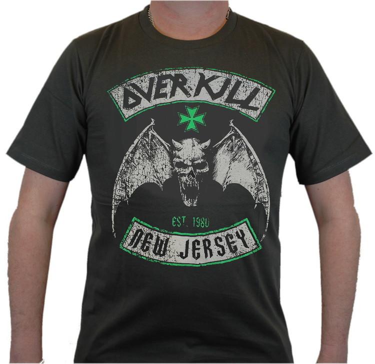 Overkill New jersey T-shirt