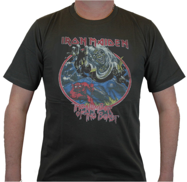 Iron maiden number of the beast T-shirt