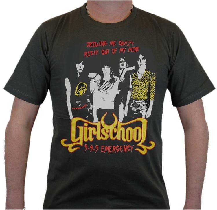 Girlschool T-shirt