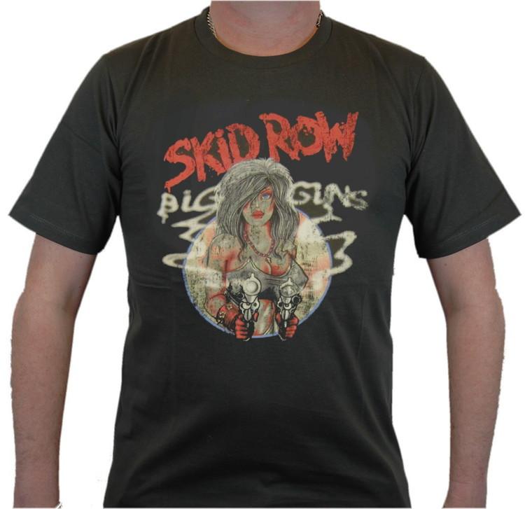 Skid row Big guns T-shirt