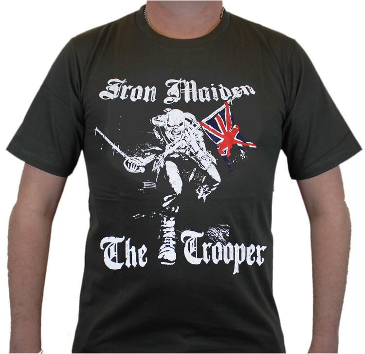 Iron maiden the trooper T-shirt