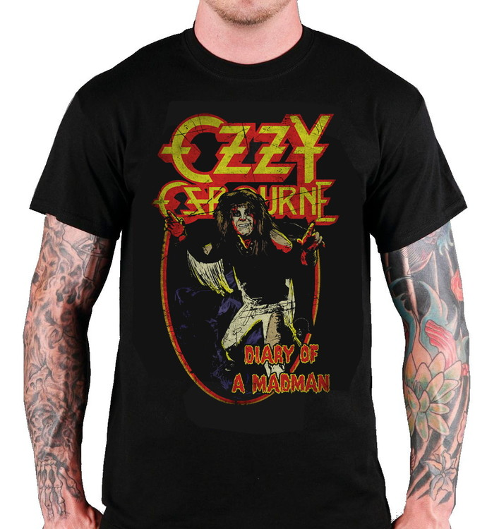 """Ozzy Osbourne """"Diary of a mad man"""" T-shirt"""
