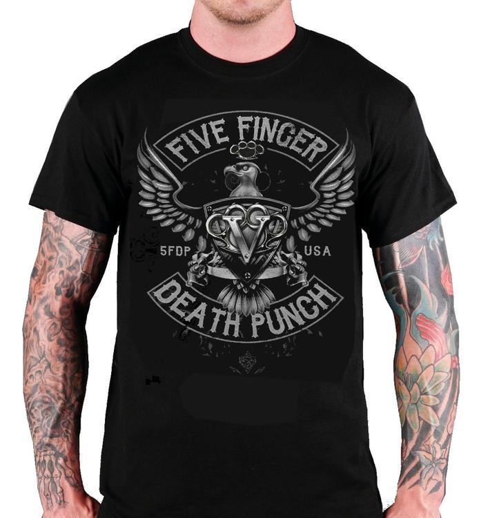 """Five Finger Death Punch """"Howe Eagle Crest"""" T-shirt"""