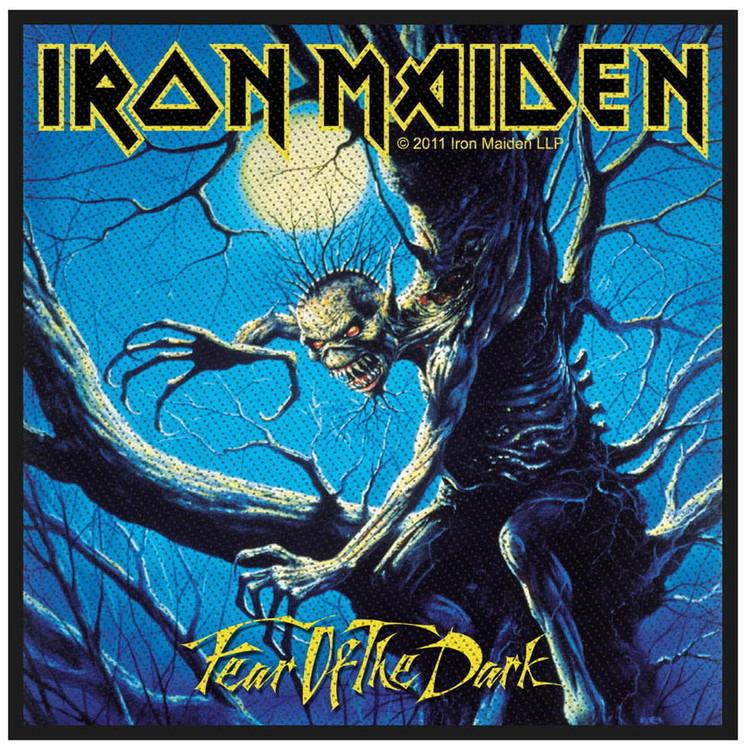 Iron Maiden Standard Patch: Fear of the dark