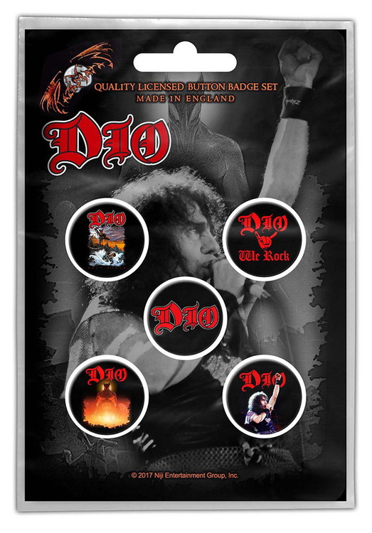 Dio 5-pack badge