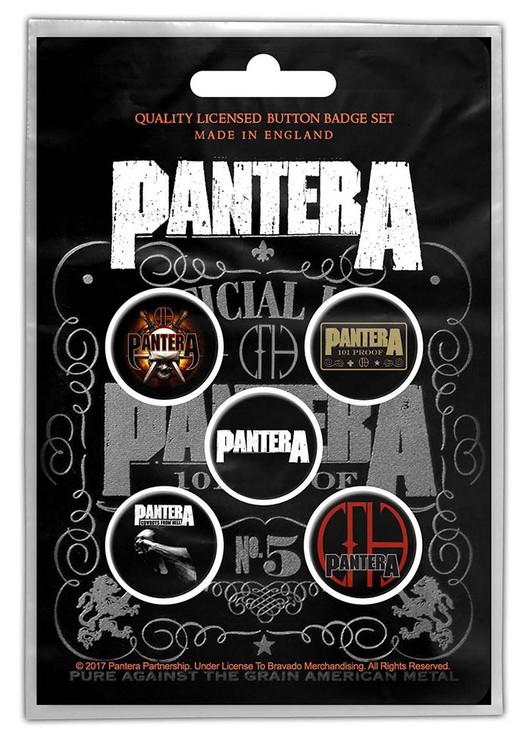 Pantera 5-pack badge