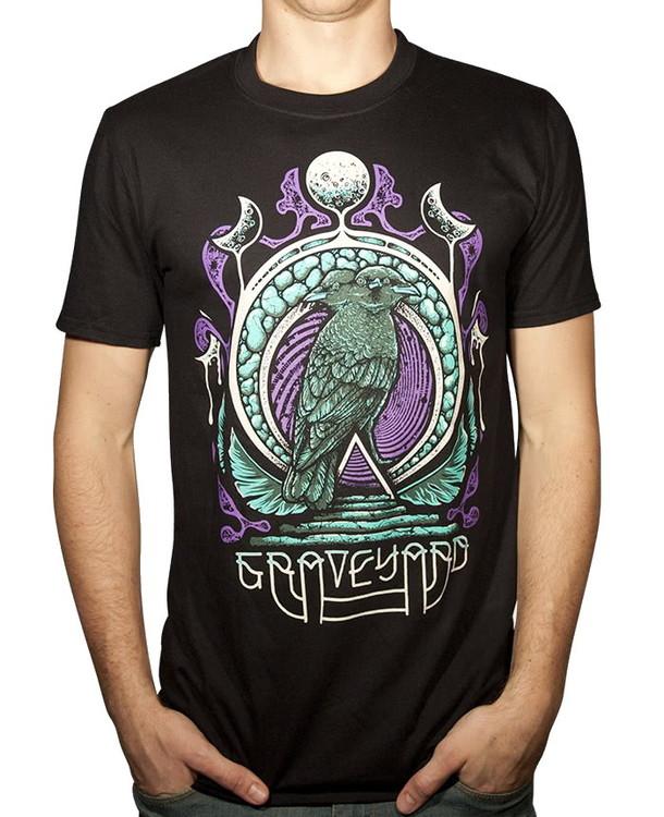 Graveyard Two headed bird T-shirt