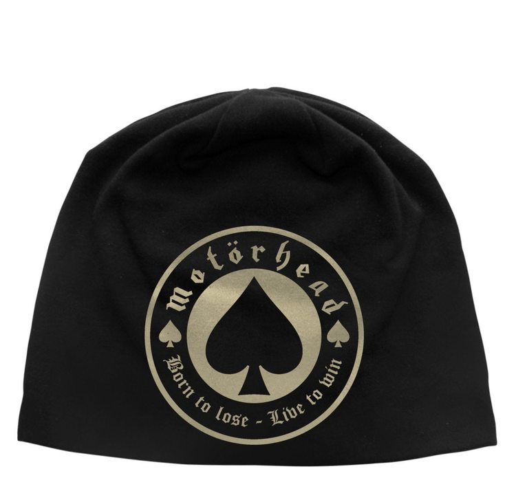 Motörhead Born to loose live to win Beanie