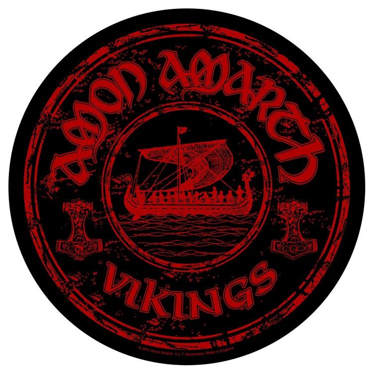 Amon Amarth 'Vikings Circular' Backpatch